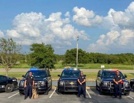 "K9 German Shepherd ""Boss"" Retires from Service in Ardmore, Oklahoma"