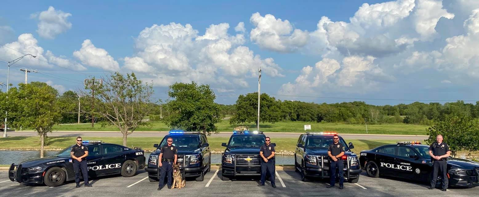 """""""BOSS"""" German Shepherd K9 Ardmore Police"""